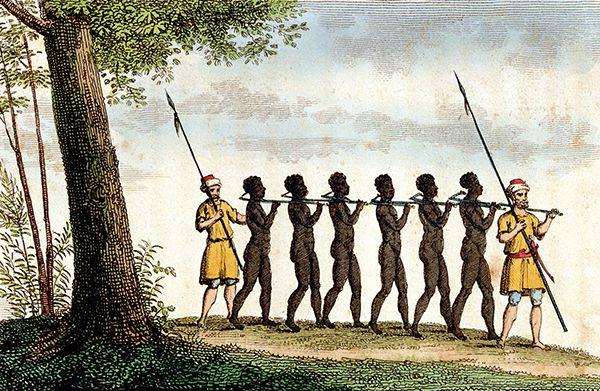 esclavitud humana