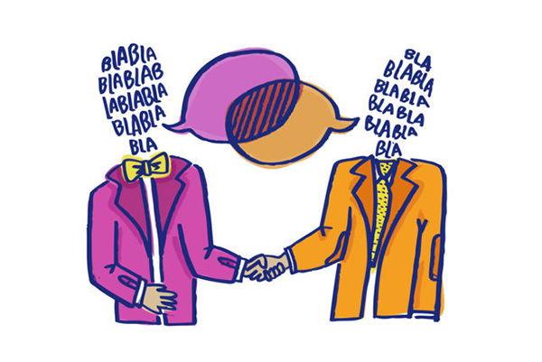 ejemplo de dialogo directo