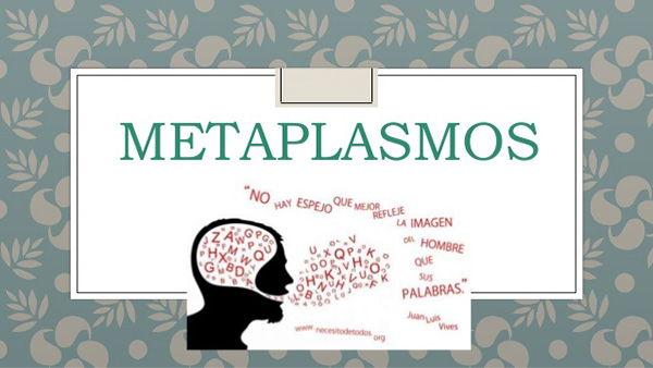 ejemplos de metaplasmo